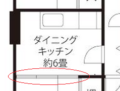 Japanese-style rooms have sliding doors. Sometime to keep in mind when you plan how to lay out your furniture.