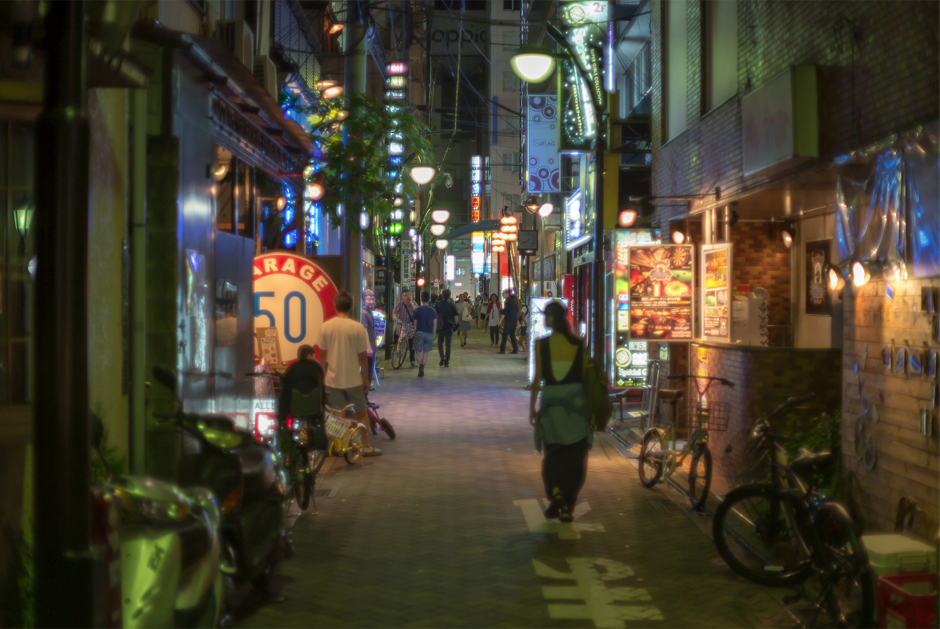 Kichijoji night life. Photo: Nayalan Moodley