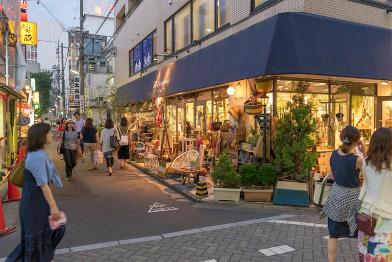 Nakamichi shopping street. Photo: Nayalan Moodley