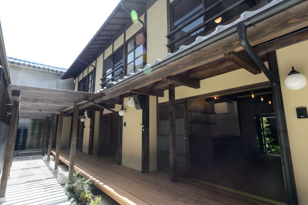 Renovated traditional wooden house - Kyoto