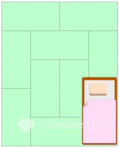 10帖大的卧室