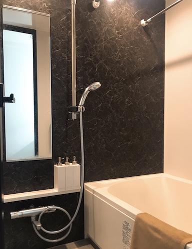 日本公寓浴室