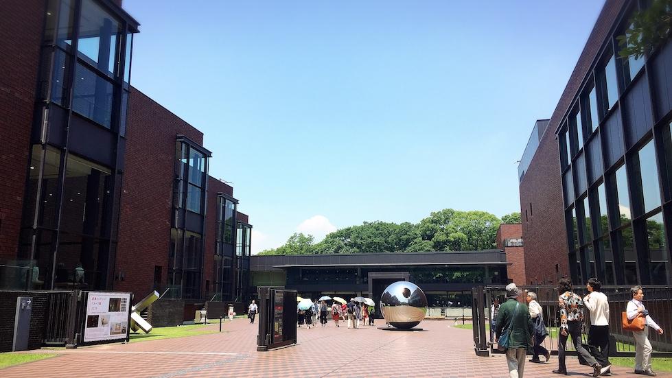 上野公園-東京都美術館