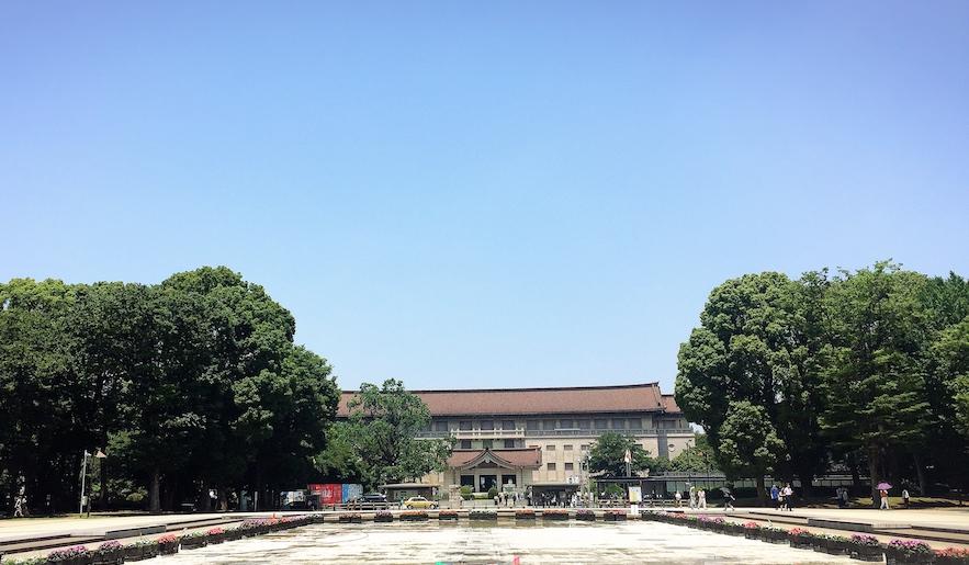 上野公園大噴水池-東京國立博物館