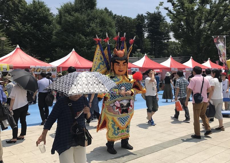 上野公園廣場-台灣祭-電音三太子