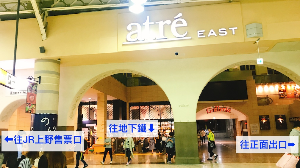 JR上野車站大廳