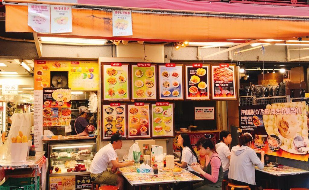 上野阿美橫町中華美食