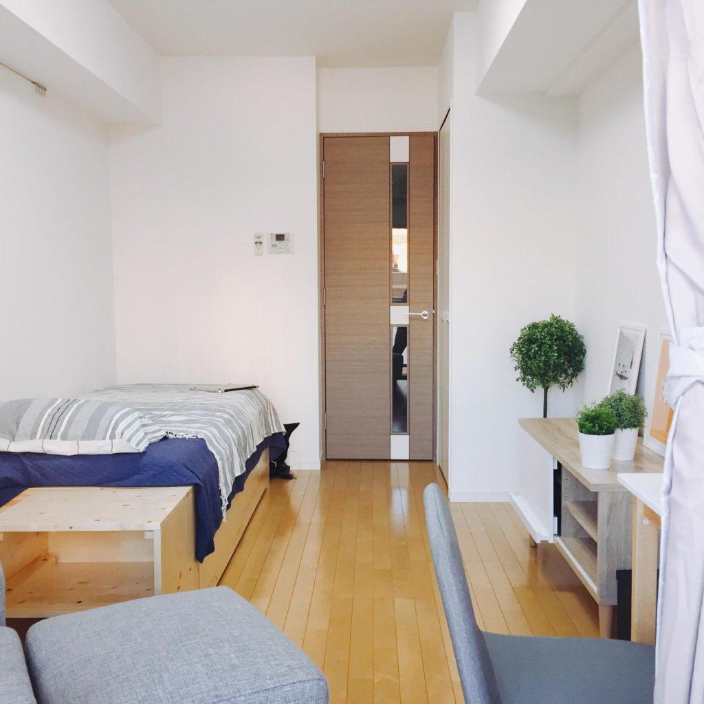 東京新宿區北新宿1K公寓,大久保站步行6分鐘,目前提供入住第1個月免費租金,需綁定1年固定租期。