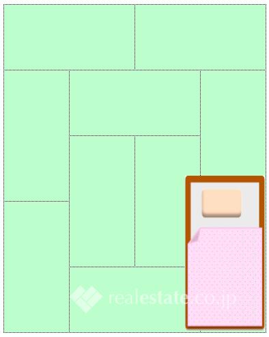 臥室10帖
