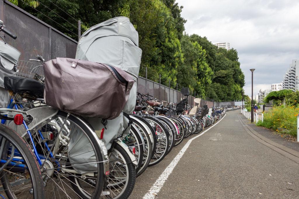 國分寺-腳踏車