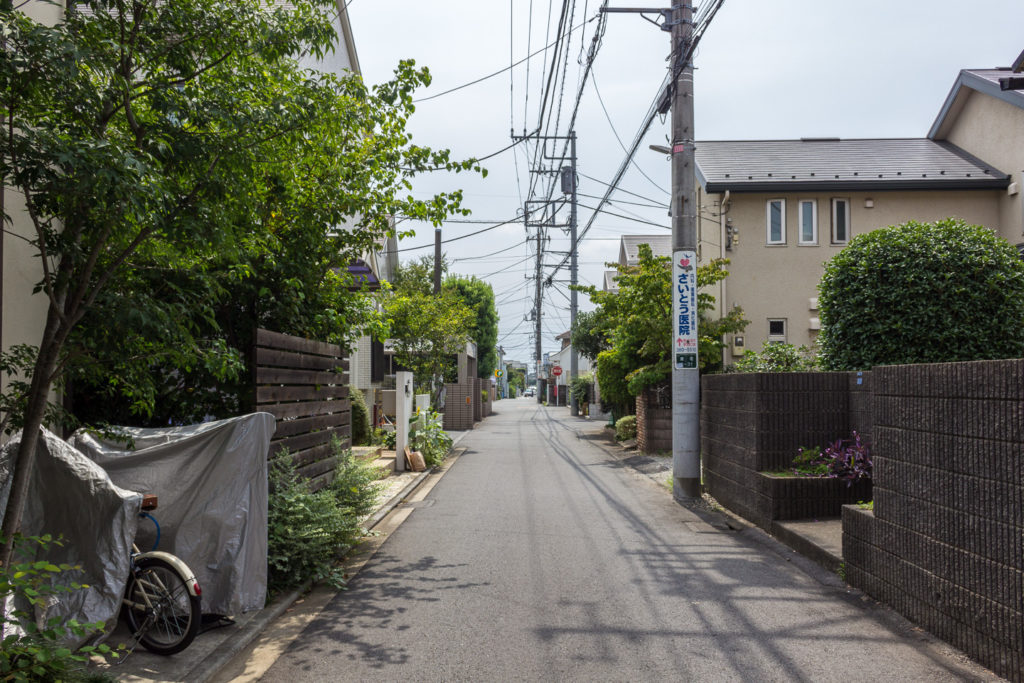東小金井-日本住宅區