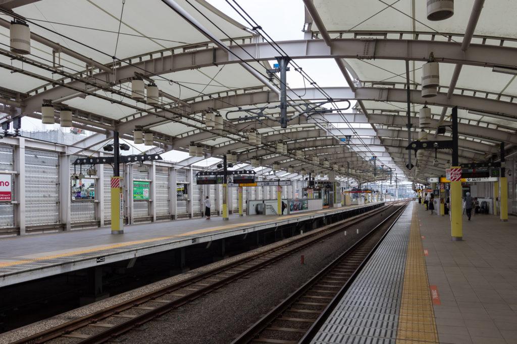 東小金井-車站月台