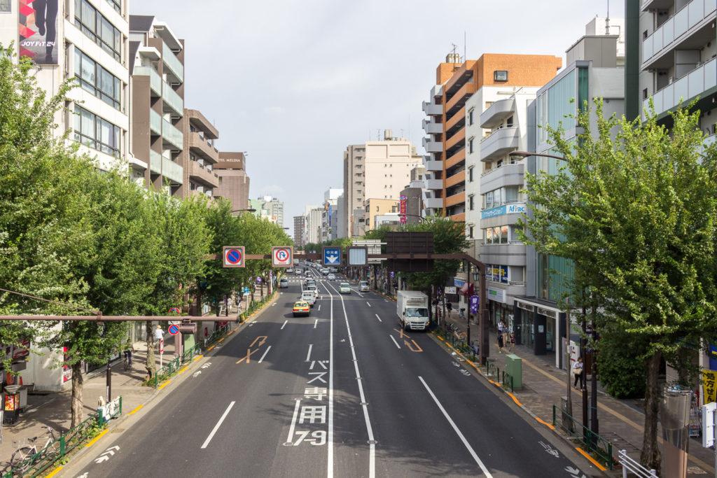 荻窪站周邊道路