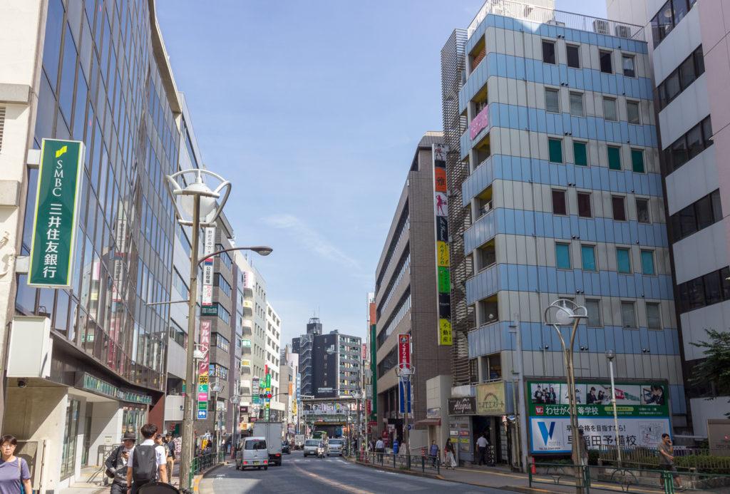 早稲田通り(早稻田路)