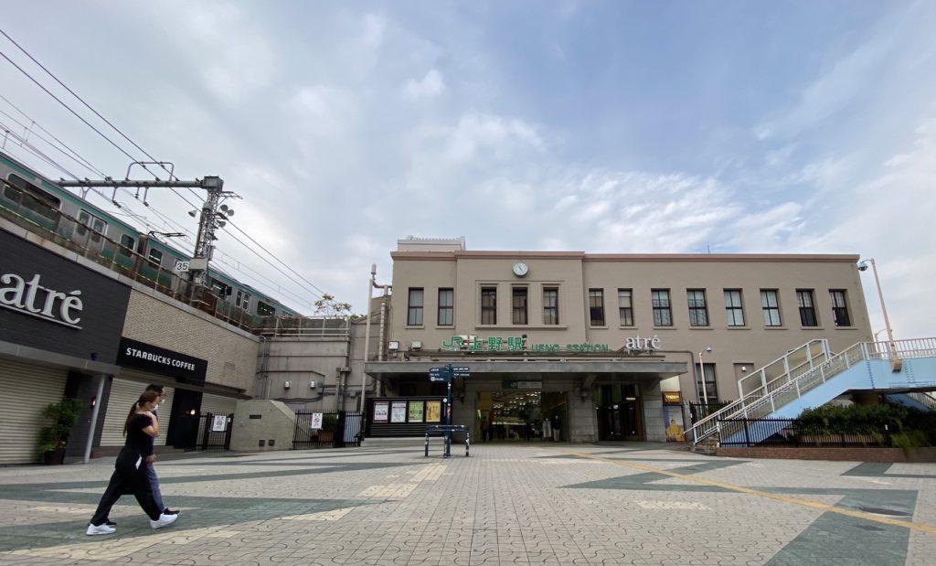 上野車站中央口站前