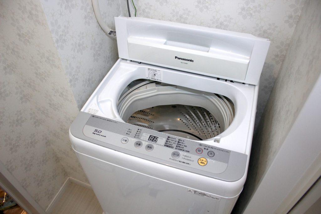 洗衣機放置處