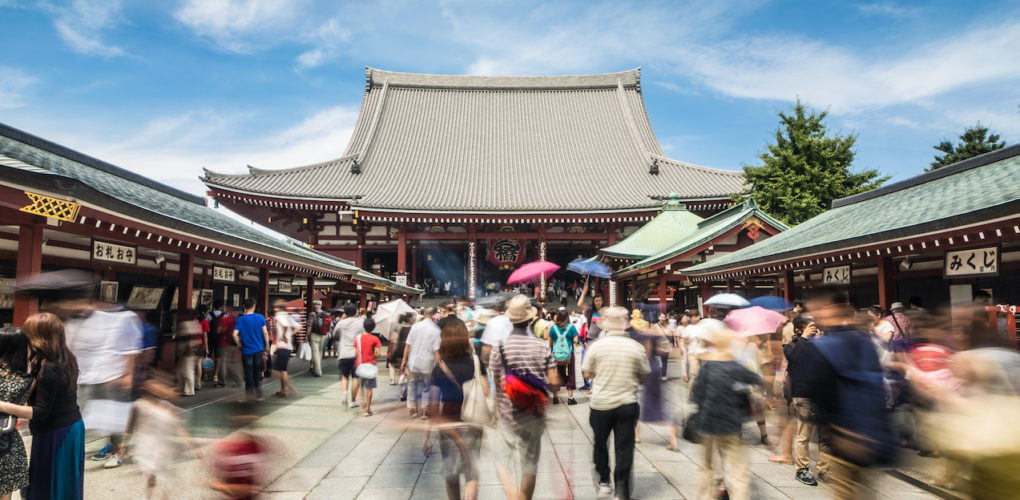 淺草寺-東京-Senso-ji temple in Tokyo, Japan capital city.