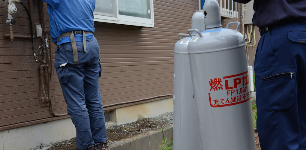 iStock-1049234054-プロパンガス-LP-Propane-Gas-gas-bottles-都市瓦斯和LP瓦斯有什麼不同
