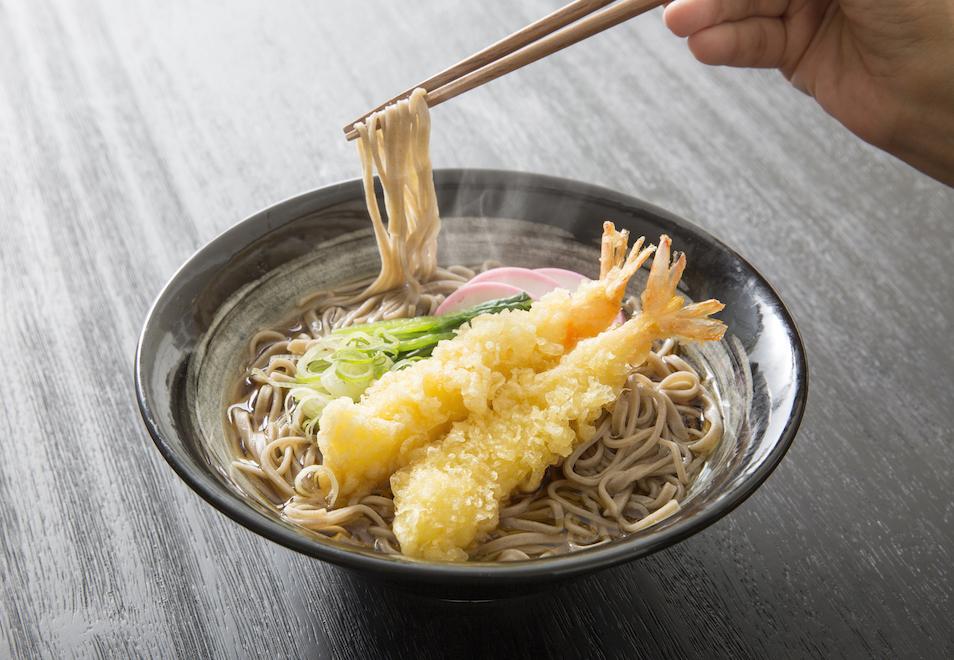 除夕夜吃蕎麥麵(年越しそば)