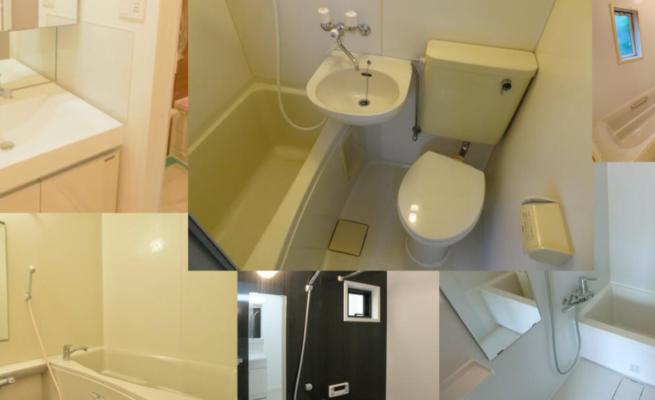 日本公寓浴室介紹:衛浴特徵和各項設備