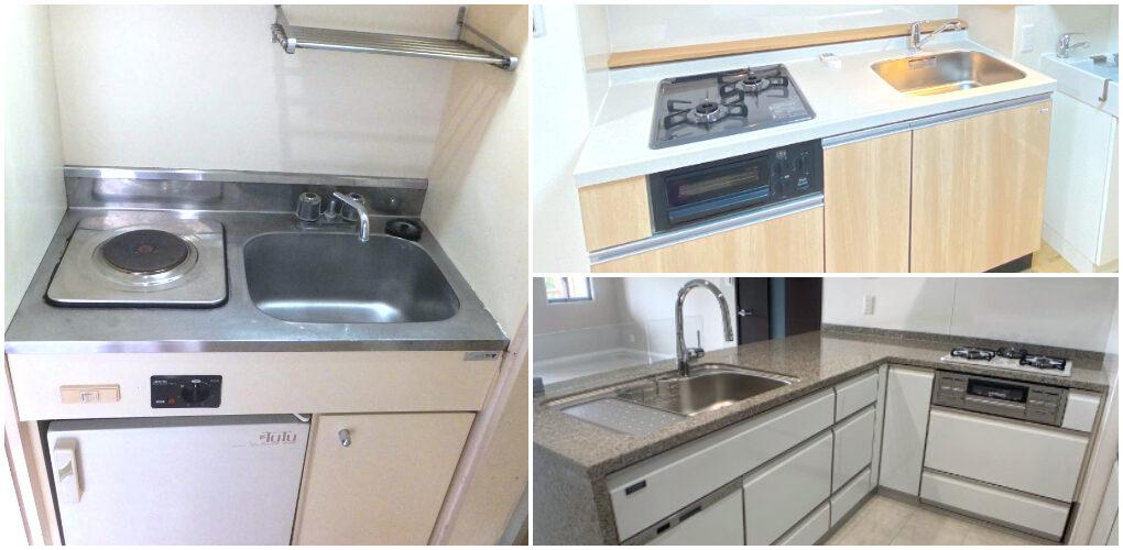 日本公寓廚房介紹-種類-特徵設備解說