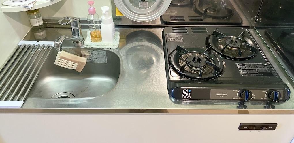 IMG_1183-1K公寓-日本公寓廚房介紹:爐具種類、特徵和設備解說