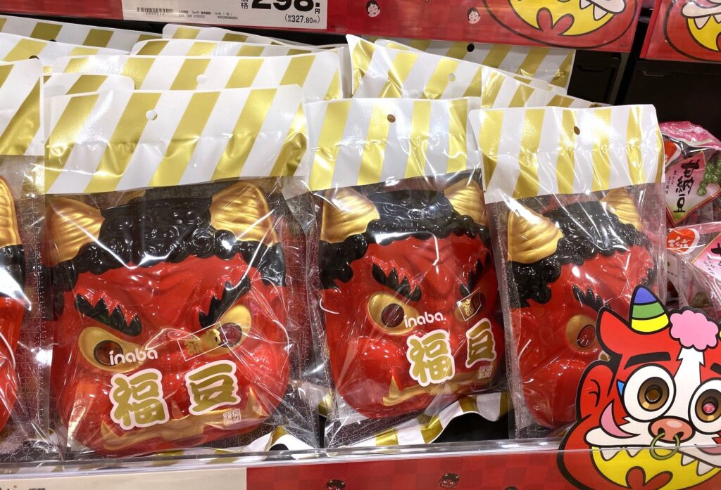 IMG_9769-赤鬼面具-日本節分撒豆驅鬼與吃惠方卷習俗-REJ