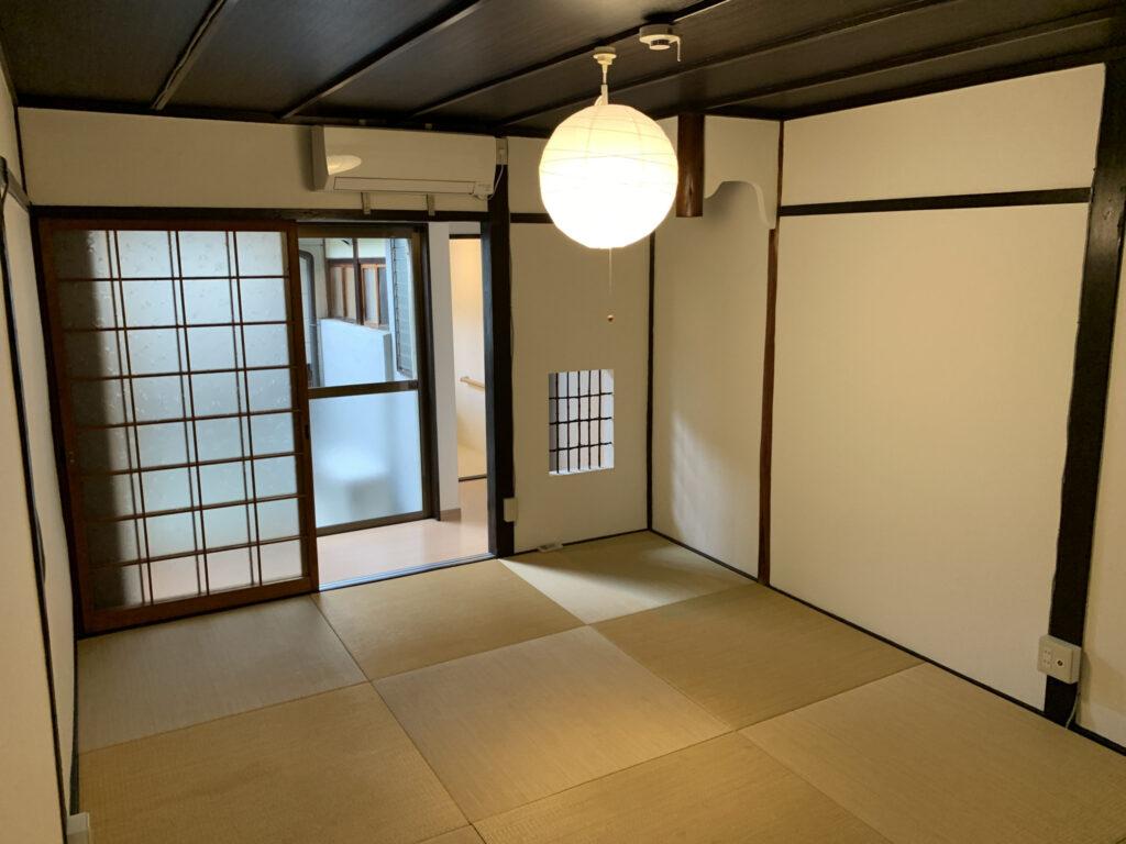 京都西本願寺寧靜巷弄之京町家-2