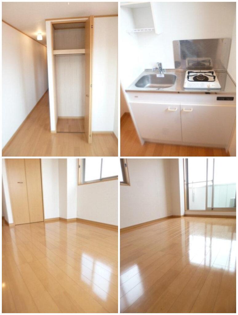 北小岩-免禮金1K出租公寓-室內