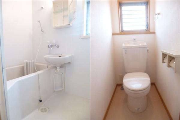 北小岩-免禮金1K出租公寓-衛浴