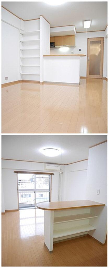 川口附帶家具家電可短期出租1LDK公寓