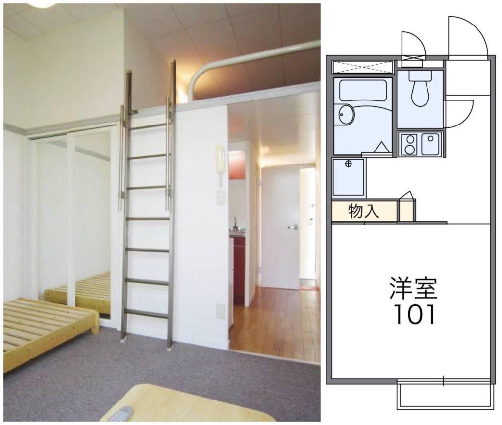 日本超激安出租公寓-八王子市1K公寓-1