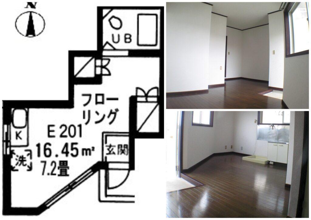 日本超激安出租公寓-町田市1R公寓-2