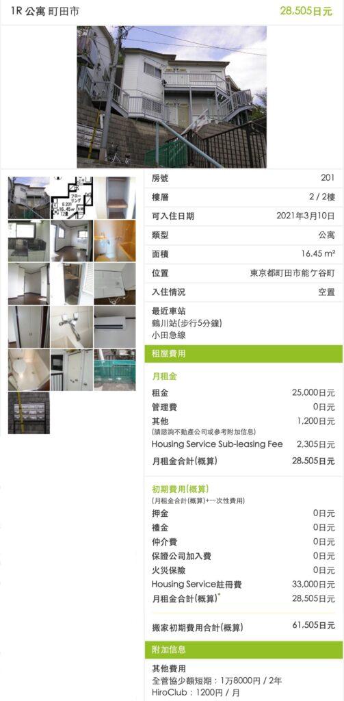 日本超激安出租公寓-町田市1R公寓
