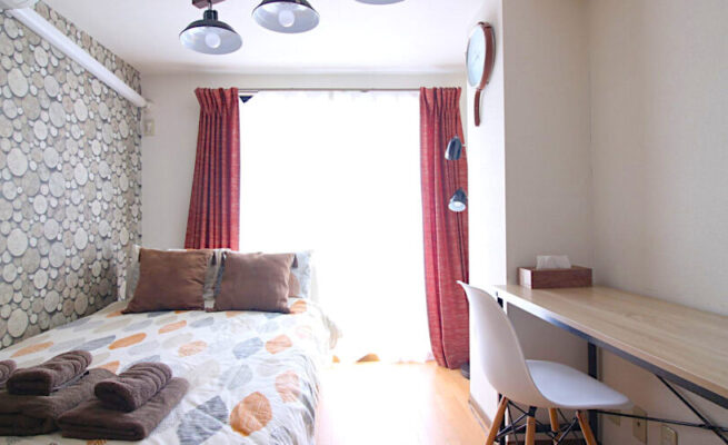 東京找到適合留學生的住宿選擇-real-estate-japan-bolte-1r-shinjuku-student-friendly-interior-1020x500