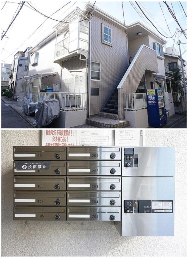白金1K出租公寓-1