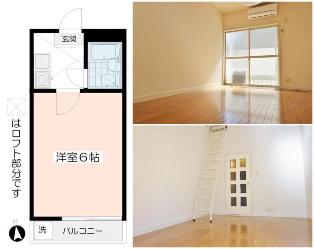 白金1K出租公寓-2