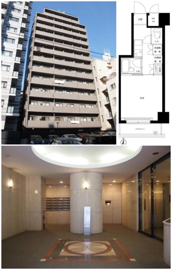 蒲田1K出租公寓-1
