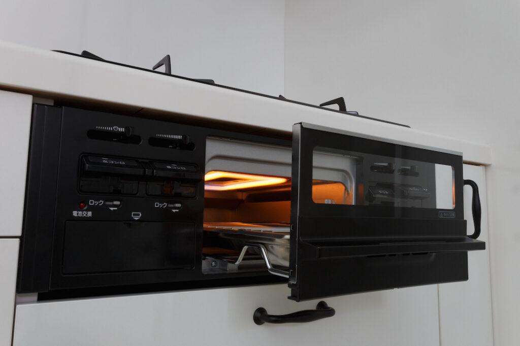 Gas Grill-如何使用日本廚房燒烤爐(魚焼きグリル)-2