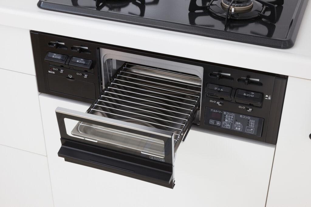 Gas Grill-如何使用日本廚房燒烤爐(魚焼きグリル)-3