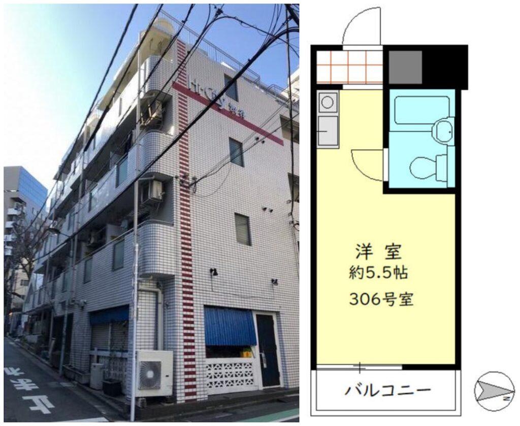 澀谷1R出租公寓1