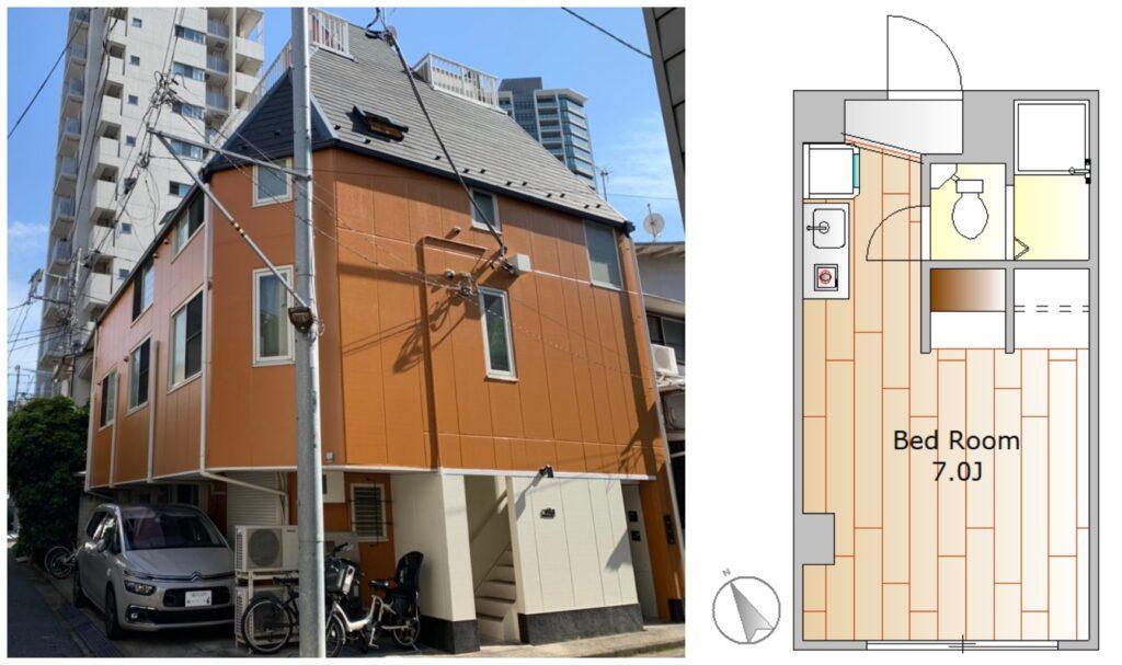 白金高輪1R出租公寓1